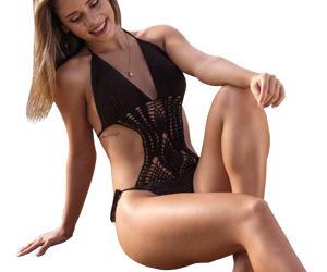 Los bikinis a crochet son la tendencia para 2019. Para ir a la playa este verano lleva un bikini de ganchillo